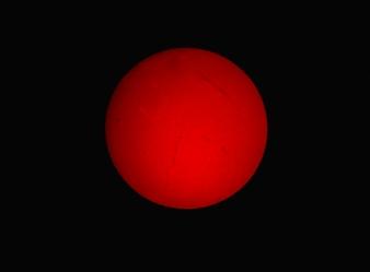 H-alpha Sun May 25 2015